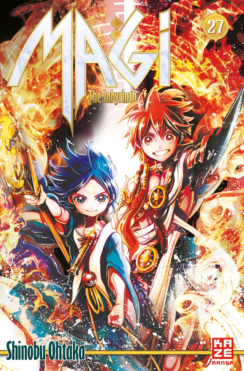 Magi - The Labyrinth of Magic 27 Manga