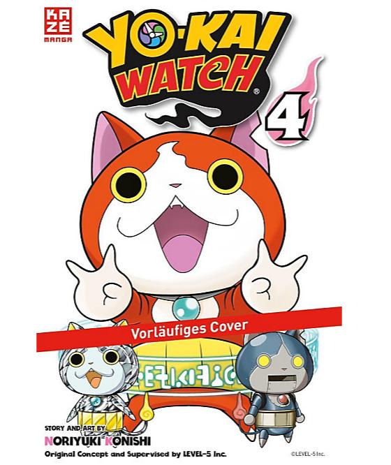 Yo-kai Watch 4 Manga