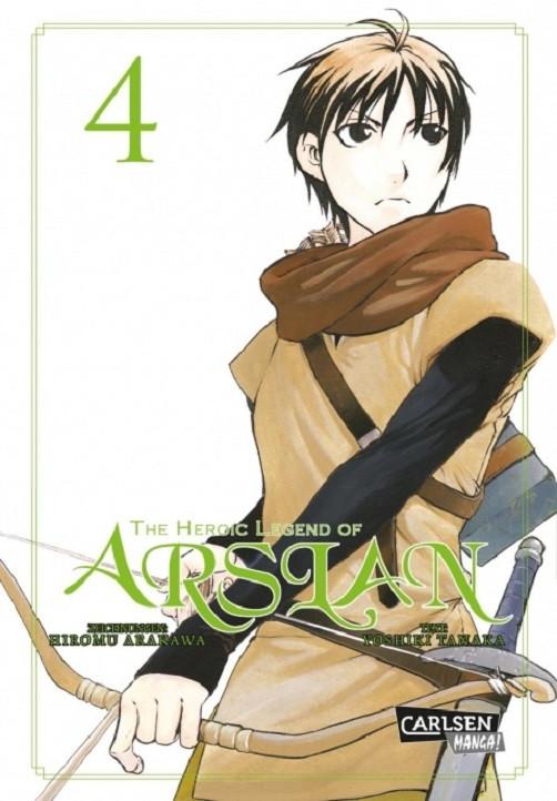 The Heroic Legend of Arslan 4 Manga