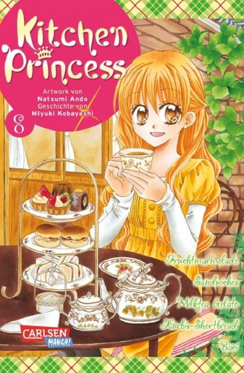 Kitchen Princess 8 Manga