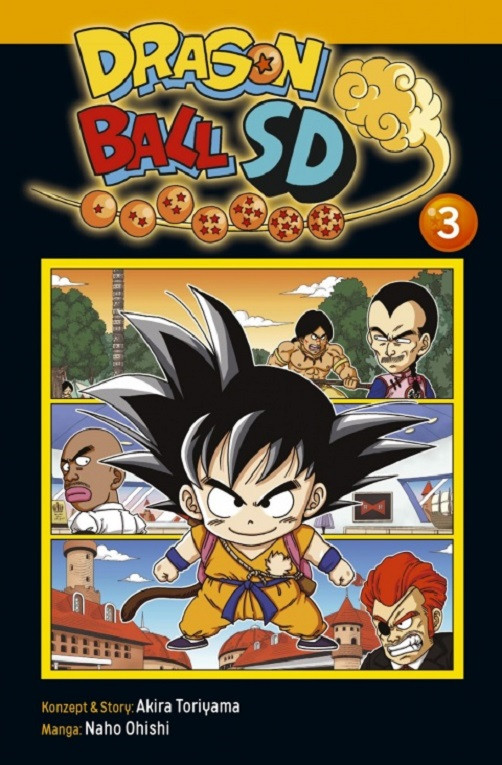 Dragon Ball SD 3 Manga