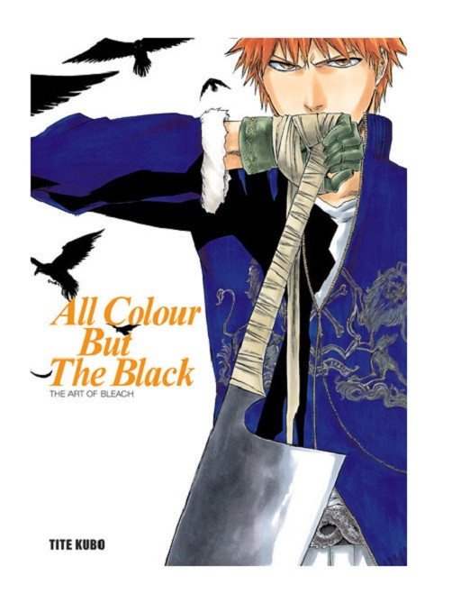 Bleach All Colour But The Black Artbook