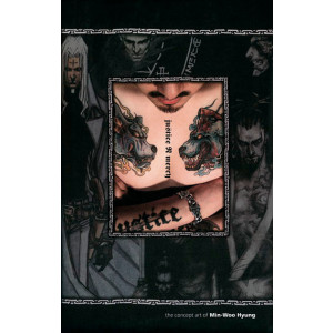 Justice N Mercy Artbook