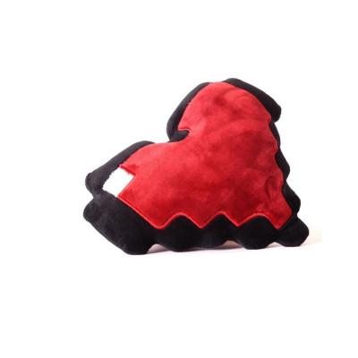 8-Bit Herz Plüsch-Kissen