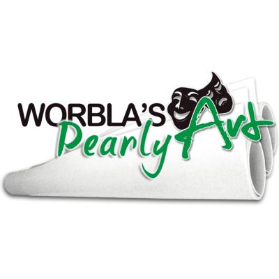 Worblas Pearly Art Platte Größe L
