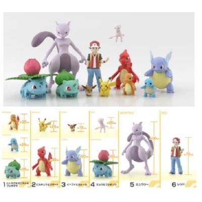 Pokemon Scale World - Kanto Set Zufalls-Figuren