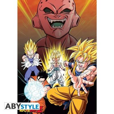 Dragon Ball Z Buu Vs Saiyans Poster