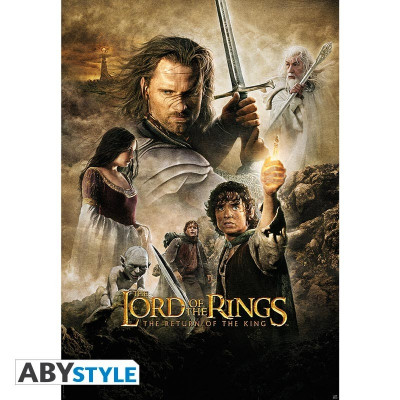 Herr der Ringe Lord of the Ring The Return of the King Poster
