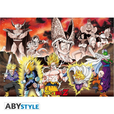 Dragon Ball Z Group Cell Arc Poster