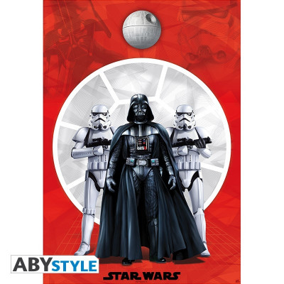 Star Wars Darth Vader & Troopers Poster