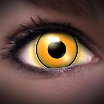 UV Yellow Kontaktlinsen