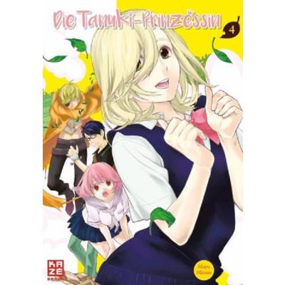 Die Tanuki-Prinzessin 4 Manga