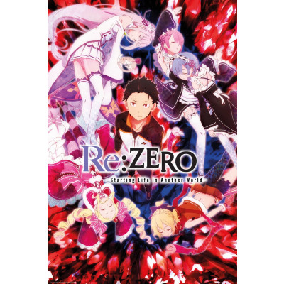 Re:Zero Characters Poster