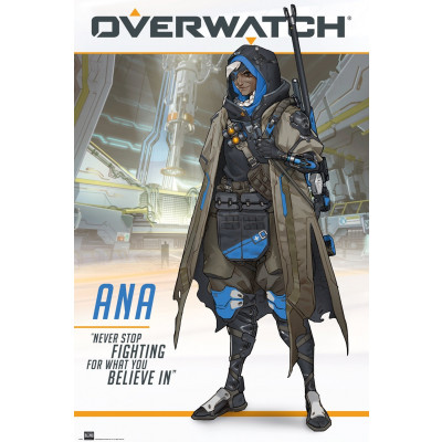 Overwatch Ana Poster