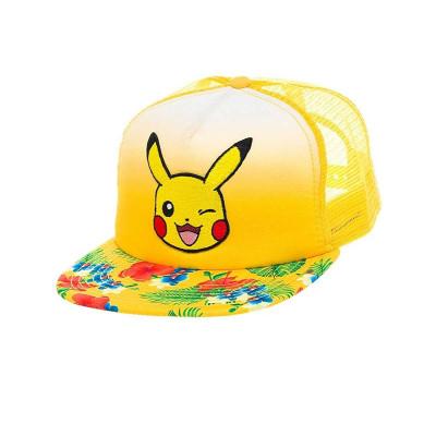 Pokemon Pikachu Trucker Snapback Kappe