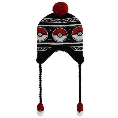 Pokemon Pokeball Laplander Beanie