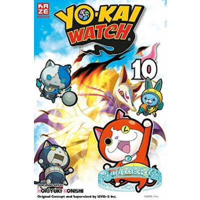 Yo-kai Watch 10 Manga