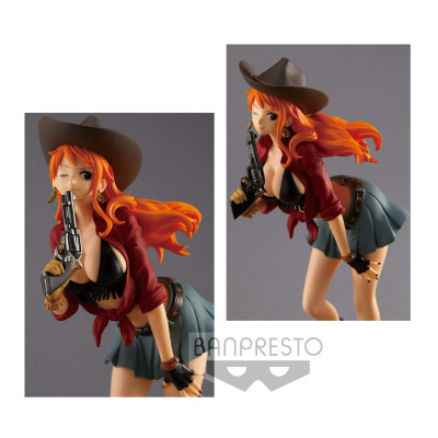 One Piece - Nami - Treasure Cruise World Journey Vol.1 19 cm Figur