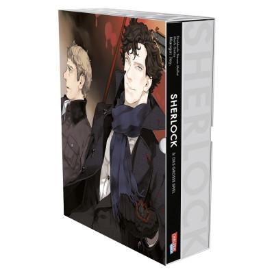 Sherlock 3 mit Schuber: Das große Spiel Manga