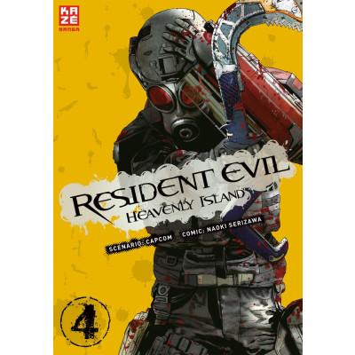 Resident Evil – Heavenly Island 4 Manga