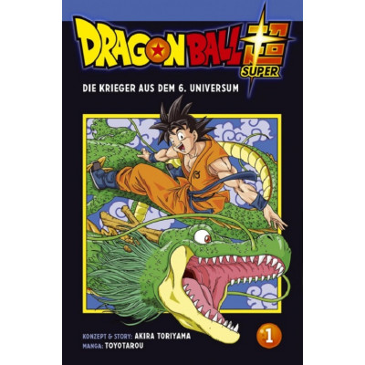 Dragon Ball Super 1 Manga