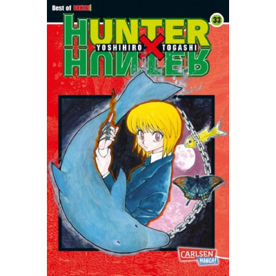 Hunter X Hunter 33 Manga