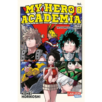 My Hero Academia 8 Manga