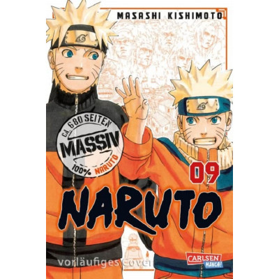 Naruto Massiv 9 Manga
