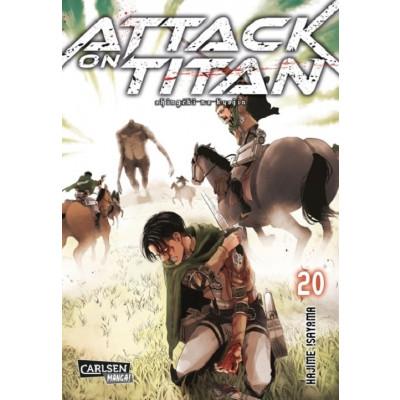 Attack on Titan 20 Manga