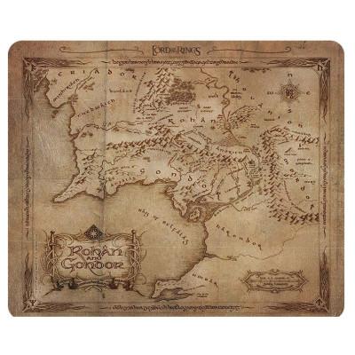 Herr der Ringe Rohan & Gondor Karte Mauspad