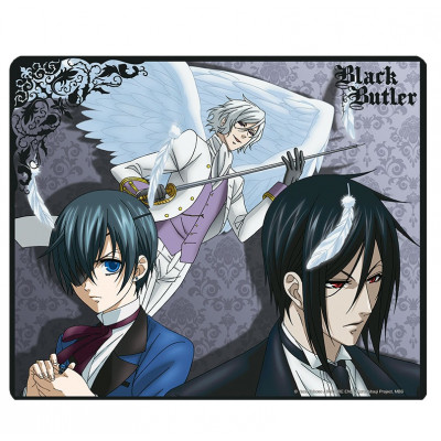 Black Butler Kuroshitsuji Sebastian vs Ash Mauspad