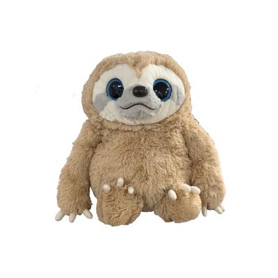 Namakemono Sloth Kirara Eyes Faultier Braun 39cm