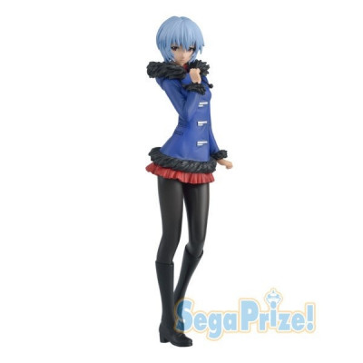Neon Genesis Evangelion Rei Ayanami Winter Coat Version 23cm Figur