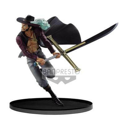One Piece Dracule Mihawk Banpresto World Figure Colosseum 2017 17cm Figur