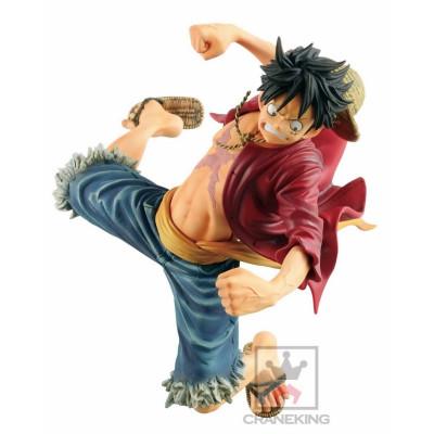One Piece Monkey D. Ruffy Banpresto World Figure Colosseum Champion 2017 16cm Figur
