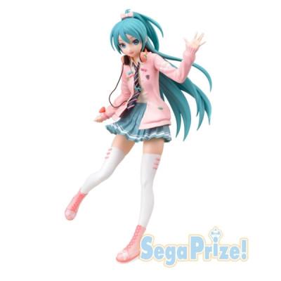 Vocaloid Project Diva Arcade Future Tone Ribbon Girl Miku Hatsune 23cm Figur