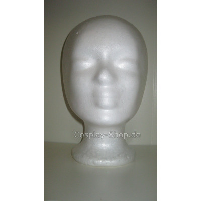 Styropor Perückenkopf