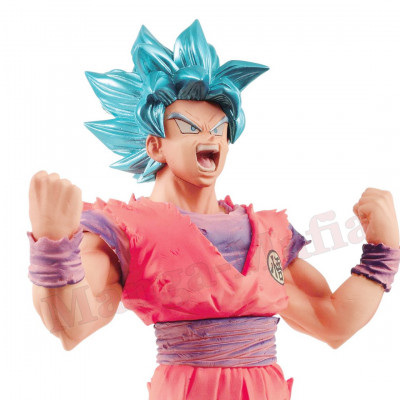 Dragon Ball Super - Blood of Saiyans Super Saiyan God Son Goku Kaiohken 18 cm Figur