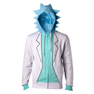 Rick and Morty Rick Größe S Kapuzenjacke
