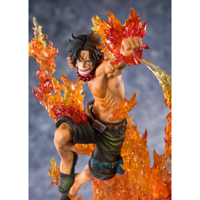PREORDER ♦ One Piece FiguartsZERO PVC Statue Portgas D. Ace -Commander of the 2nd Division- 20 cm Figur