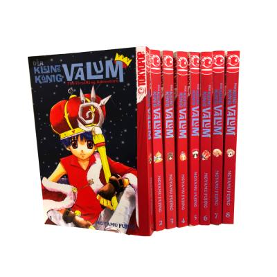 Der kleine König Valum 1-8 Manga Serie (gebraucht)
