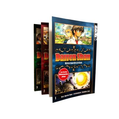 Darren Shan 1-3 Manga Serie (gebraucht)