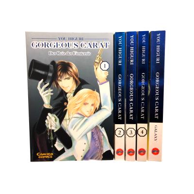 Gorgeous Carat 1-4 + Galaxy Manga Serie (gebraucht)