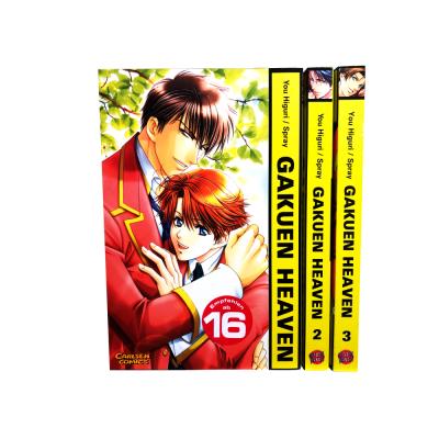 Gakuen Heaven 1-3 Manga Serie (gebraucht)