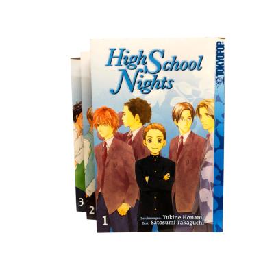 High School Nights 1-3 Manga Serie (gebraucht)