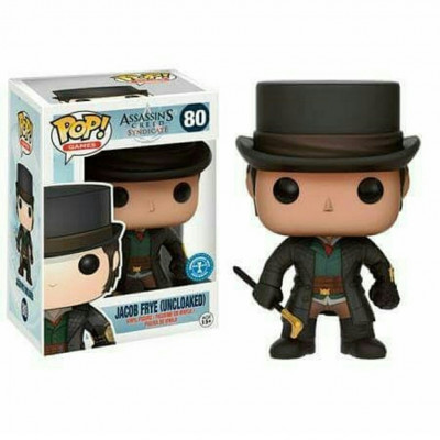 Assassin's Creed Jacob Frye (Uncloaked) #80 Game Funko POP! Figur