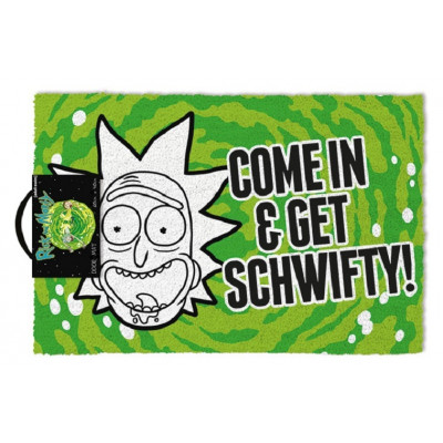 Rick and Morty Get Swifty 40 x 57 cm Fußmatte