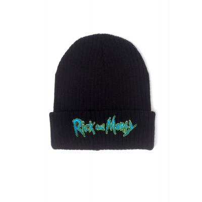Rick and Morty Logo Beanie