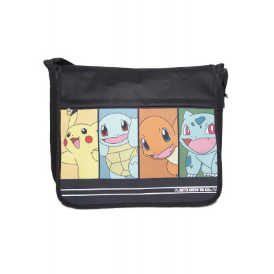 Pokemon Starting Characters Messengerbag Tasche