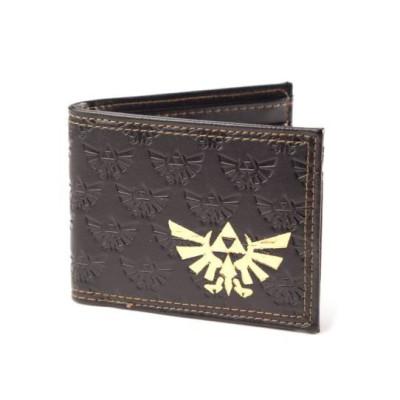 The Legend of Zelda Gold Foil Logo Geldbeutel